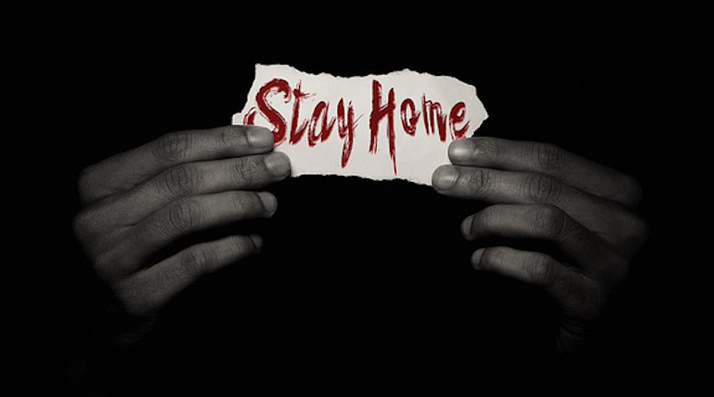 Stay At Home Covid-19 Coronavirus Pandemic Virus Lockdown