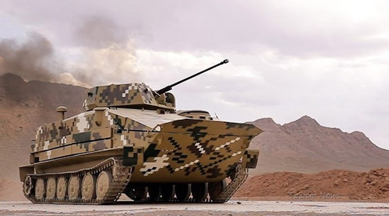 Iran's BTR-50 personnel carrier. Photo Credit: Tasnim News Agency