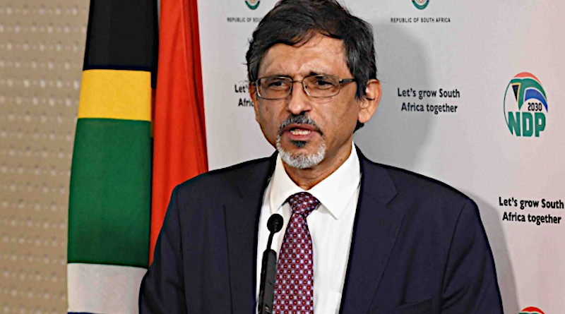 South Africa's Trade, Industry and Competition Minister Ebrahim Patel. Photo Credit: SA News