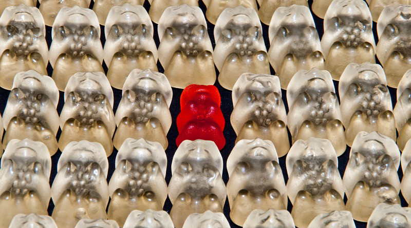 Equality Equal Gummi Bear Bear Sweetness Colorful Discrimination