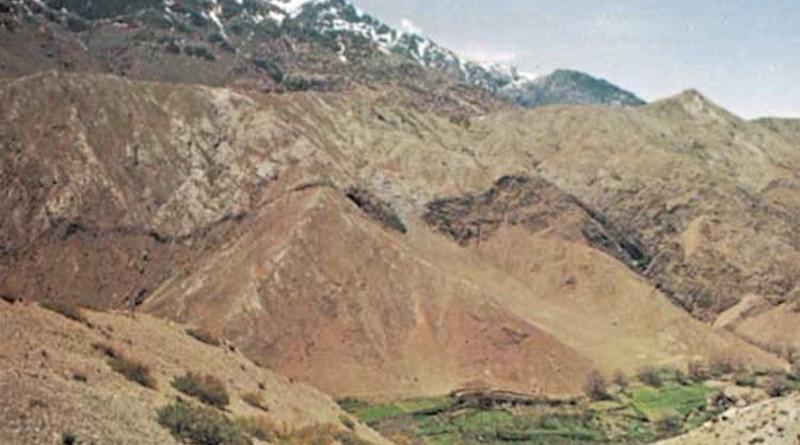 Tichka Pass in the High Atlas mountains, Morocco. Credit: Britannica Researchers