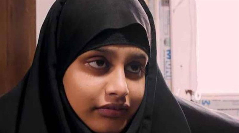 File photo of Shamima Begum
