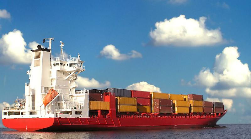 Trade Shipping Cargo Ship Container Commerce Ocean International