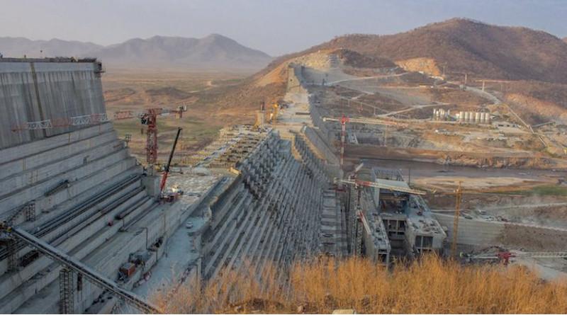 The Grand Ethiopian Renaissance Dam. Credit: Olof von Gawinski, Flickr.