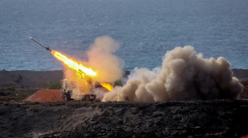 Photo of Iran's IRGC military wargame exercise. Photo Credit: Fars News Agency
