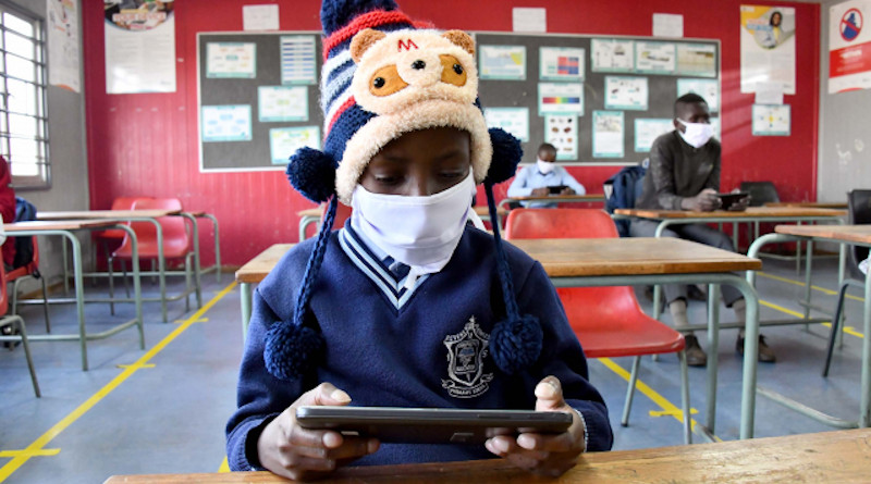Children return to school in South Africa. Photo Credit: SA News