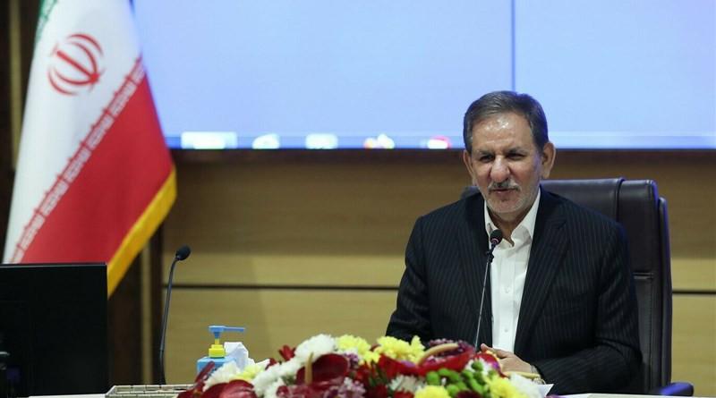 Iran's First Vice President Eshaq Jahangiri. Photo Credit: Tasnim News Agency