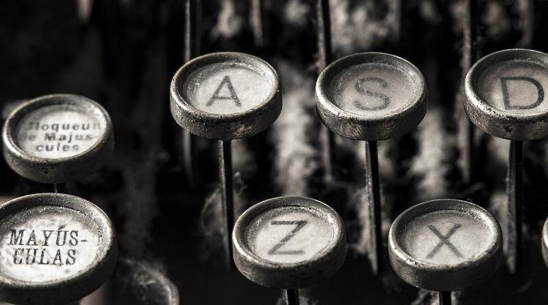 Typewriter Alphabet Letter Writer Writing Author