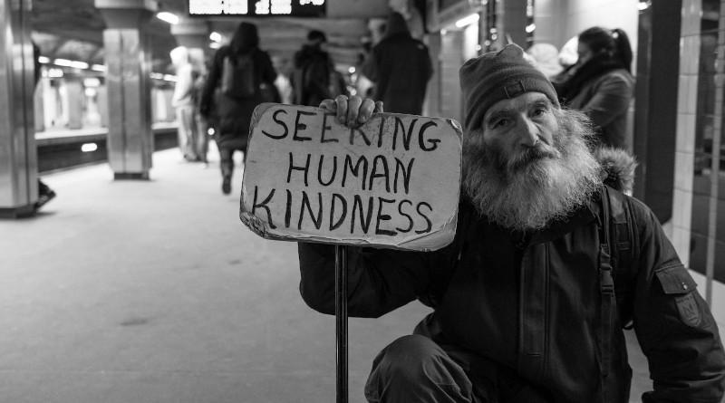A homeless man. Photo Credit: UNSPLASH, Matt Collamer