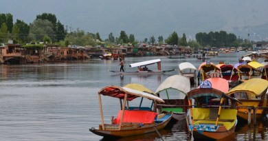 Srinagar India Kashmir Travel Landscape Water