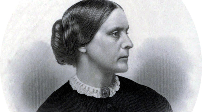 Public relations portrait of Susan B. Anthony as used in the History of Woman Suffrage by Anthony and Elizabeth Cady Stanton, Volume I, published in 1881. Credit: Engraved by G.E. Perine & Co., NY, Wikipedia Commons