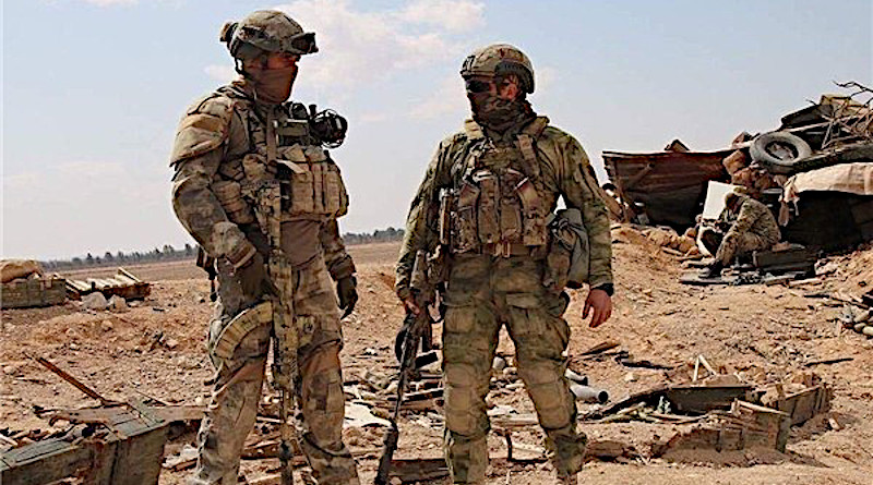 Members of the Russia's Wagner Group mercenary organization in Syria. Photo Credit: Wikipedia Commons