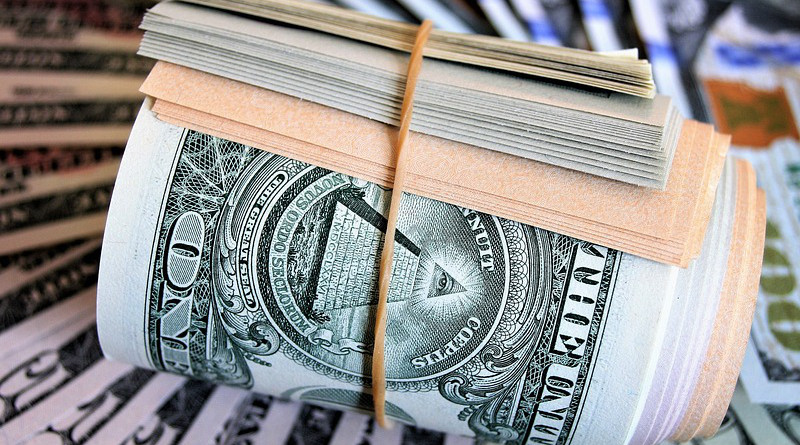 Dollar Currency Currency Finance A Wealth Of Savings Pyramid