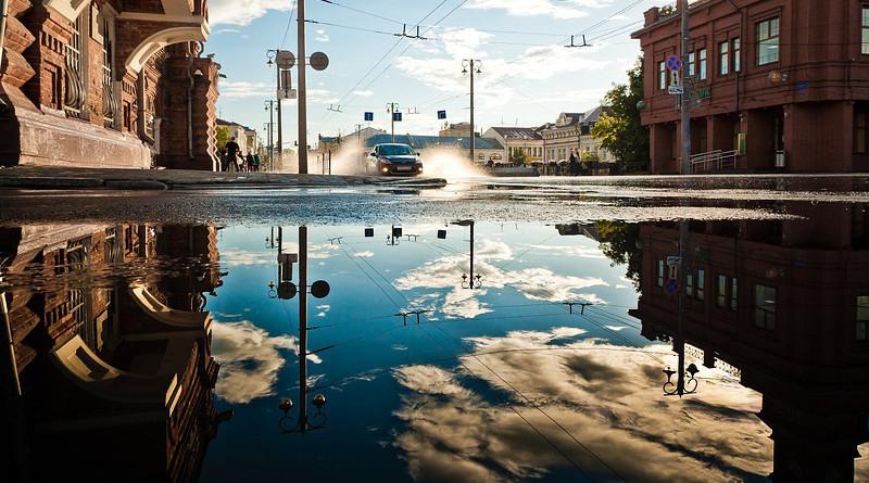 Flood Architecture Buildings City Downtown Power