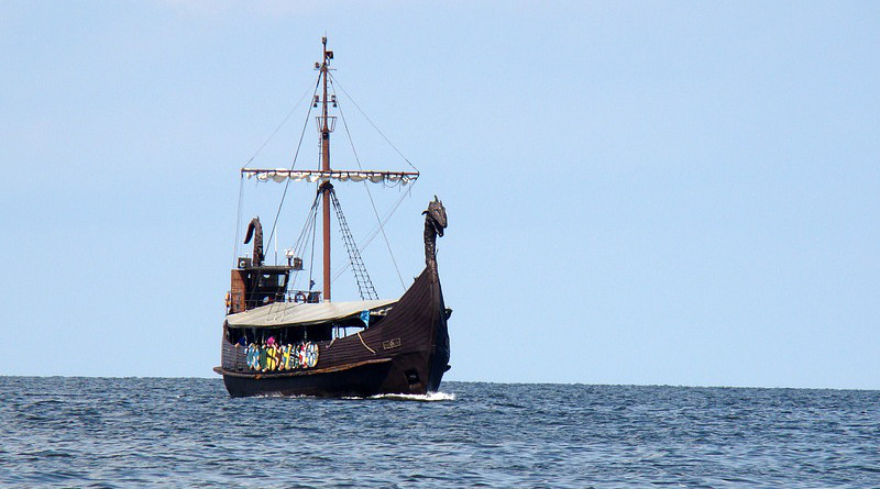 Ship Sea Boat The Vikings