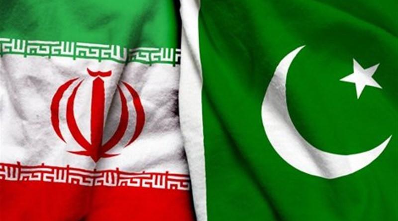 Flags of Iran and Pakistan. Photo Credit: Tasnim News Agency