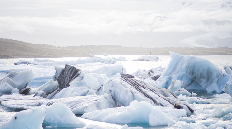 Ice Floe Cold Nature Blue White Arctic Antarctic
