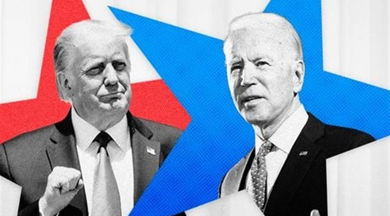 Montage of Republican US President Donald Trump and Democratic challenger, former Vice President Joe Biden. Credit: Tasnim News Agency