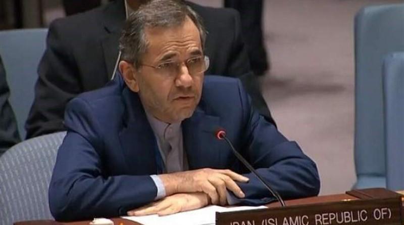 Iran's ambassador to the United Nations Majid Takht Ravanchi. Photo Credit: Tasnim News Agency