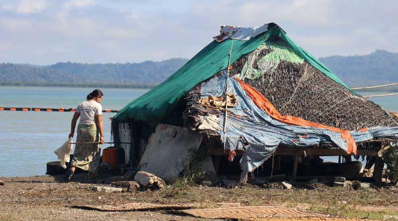 Poor family in Arakan State, Myanmar. Photo Credit: DMG