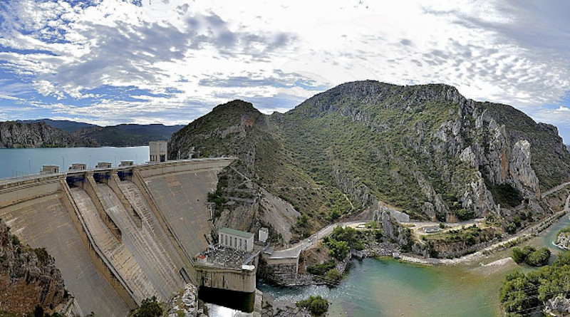 Santa Ana Dam at the Noguera Ribagorzana River in the Ebro River catchment, Spain CREDIT: Manuel Portero / CC BY-SA