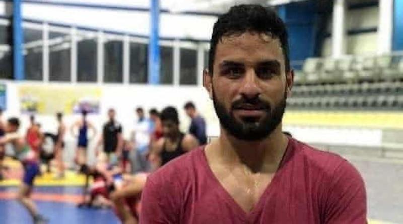 Iranian political prisoner Navid Afkari