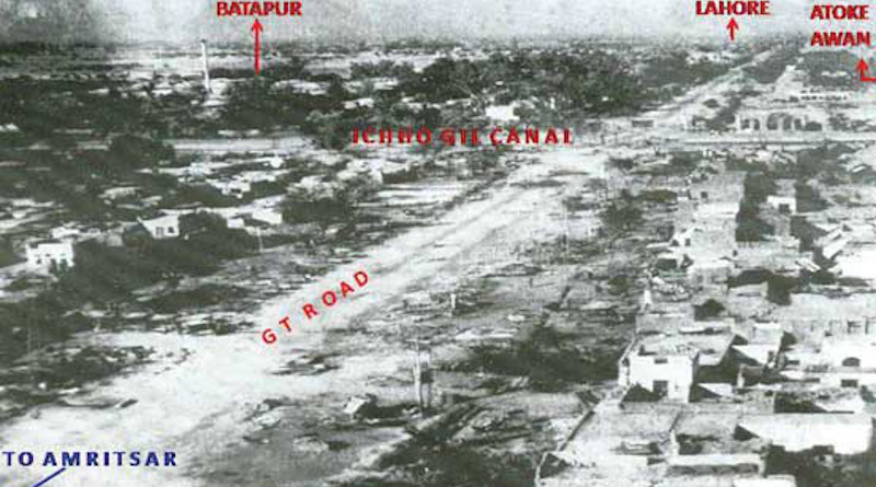 Battle of Dograi on outskirts of Lahore during the Indo-Pakistani War of 1965. Photo Credit: Sainiksamachar.nic.in