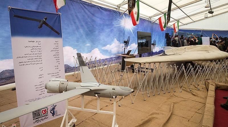 Iran's IRGC Navy unveils new combat, VTOL drones. Photo Credit: Tasnim News Agency