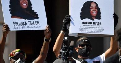 Breonna Taylor protestors. Photo Credit: Tasnim News Agency