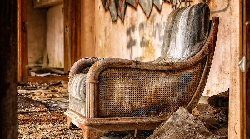 Decay Chair Furniture Lost Places Furniture Pieces Old