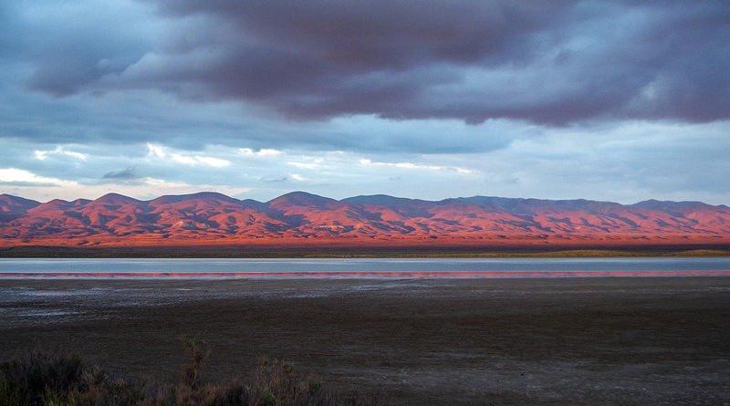 San Andreas Fault Soda Lake Sunset Outdoors