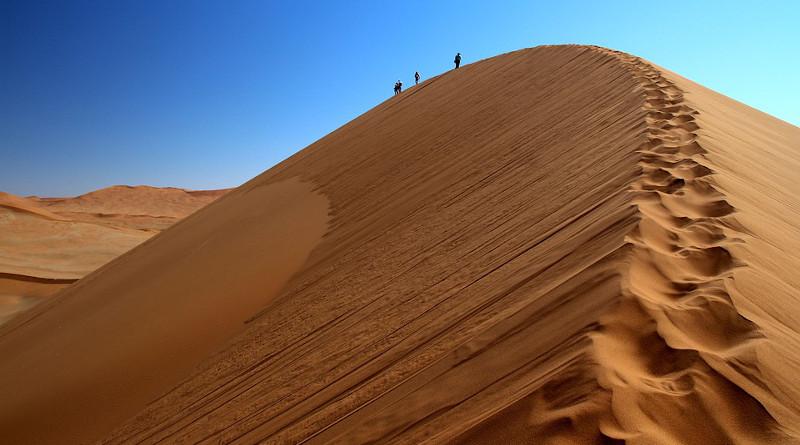 Namibia Desert Sossusvlei Sand Sand Dune Africa