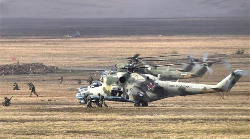 Russia holds Kavkaz-2020 military drill. Photo Credit: Tasnim News Agency