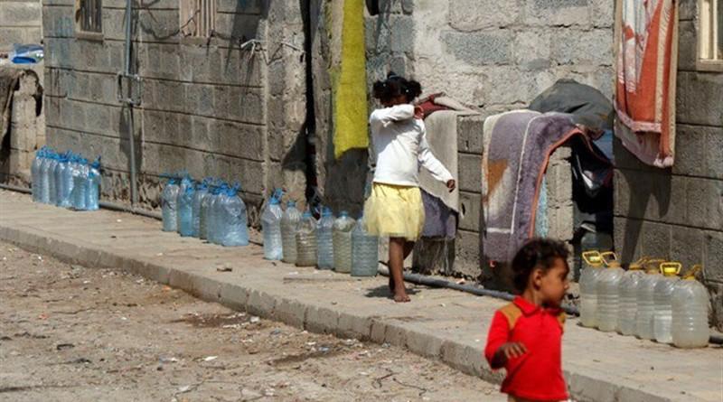Poverty in war-torn Yemen. Photo Credit: Tasnim News Agency