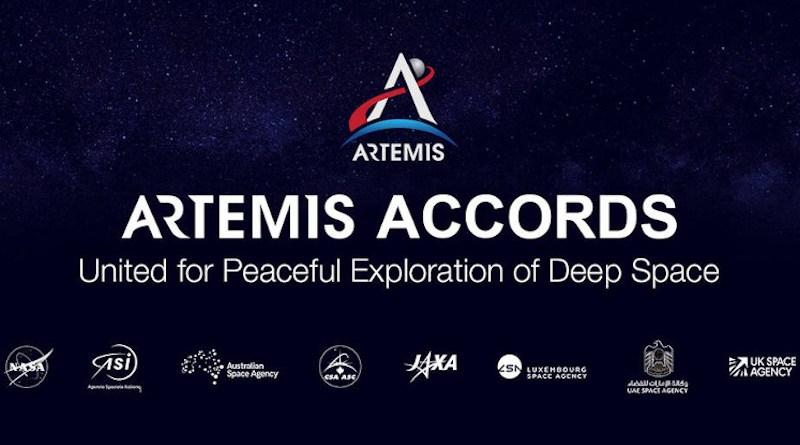 Artemis Accords. Credit: NASA