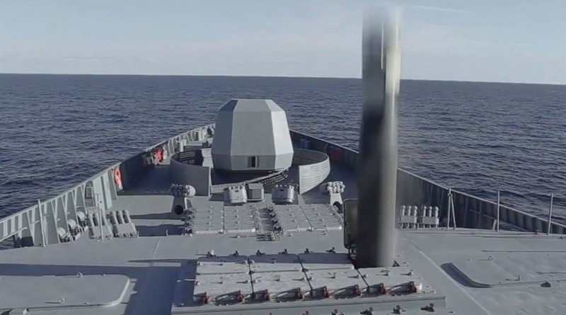The Russian Navy test-fires an ultra-fast Zircon anti-ship missile. Photo Credit: Tasnim News Agency