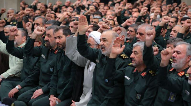 IRGC commanders, in a meeting with Supreme Leader Ayatollah Ali Khamenei. Photo Credit: Khamenei.ir