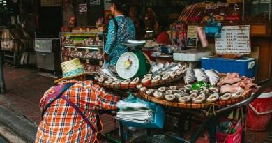 Business Shop Bangkok Metropolis Thailand Chinatown Seller