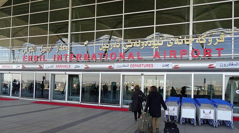 Erbil International Airport in Iraqi Kurdistan. Photo Credit: Jeffrey Beall, Wikimedia Commons