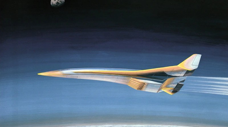 Hypothetical hypersonic illustration. Credit: NASA