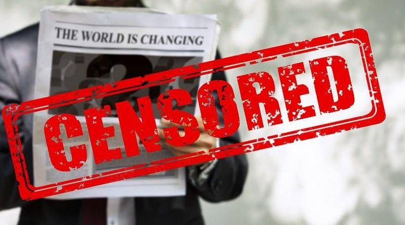 Censorship Man Newspaper Read News Press