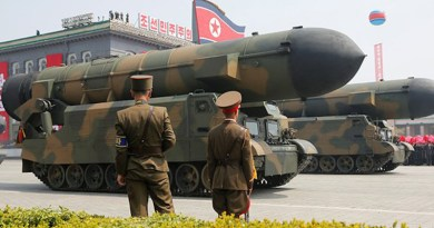 """North Korea unveils new """"monster"""" intercontinental ballistic missile (ICBM) in military parade on October 10, 2020. Photo Credit: Fars News Agency"""