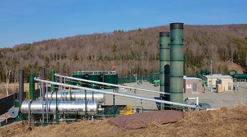A Los Alamos study reveals how production pressures can be optimized to efficiently recover natural gas. CREDIT: stock image