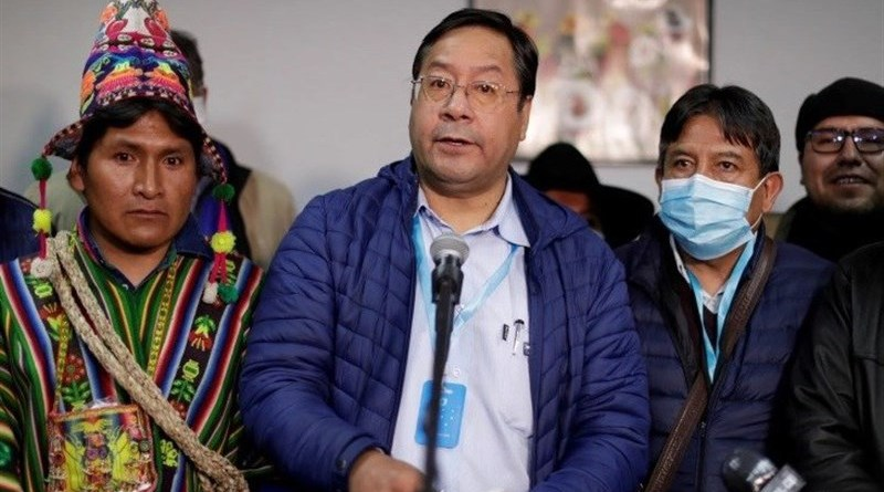 Bolivia's President Luis Arce. Photo Credit: Tasnim News Agency