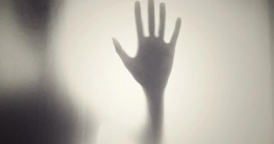 Hand Silhouette Shape Horror Creepy Scary Help
