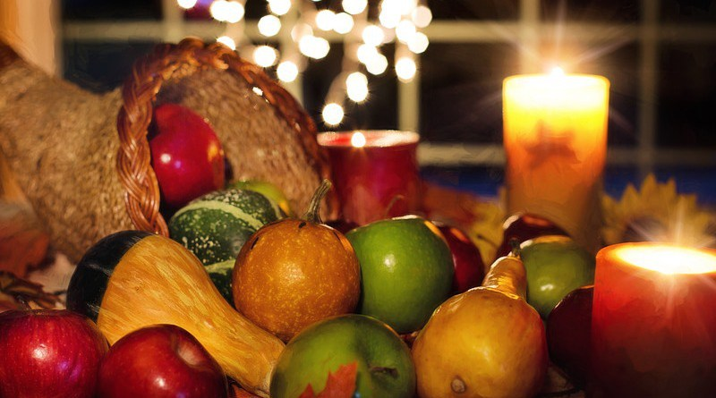 thanksgiving dinner cornucopia