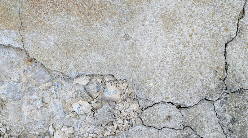 Crack Concrete Industrial Cement
