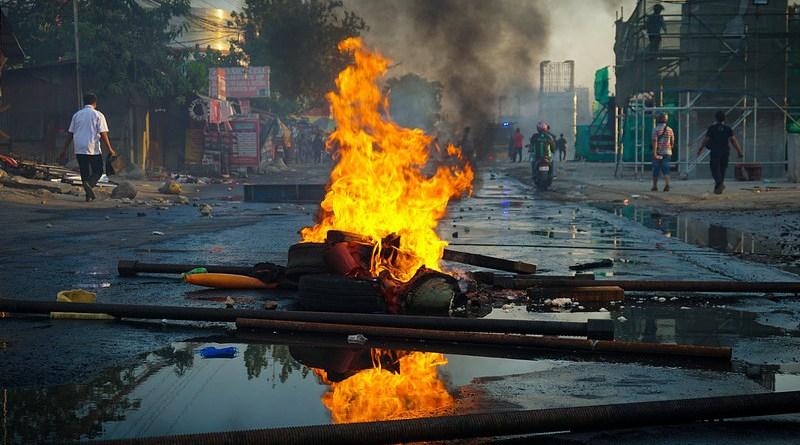 Aftermath Riot Protest Revolution Demonstration