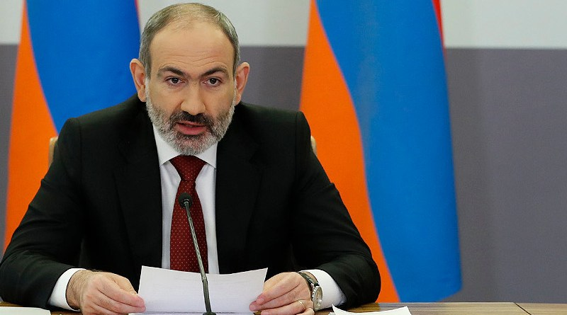 Armenia's Prime Minister Nikol Pashinyan. Photo Credit: Government of Armenia