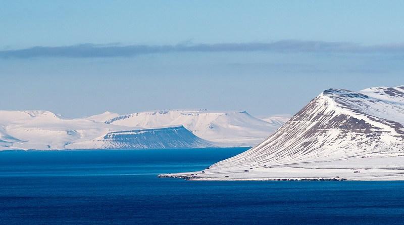 Svalbard Norway Landscape Snow Polar Arctic